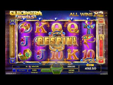 Cleopatra Jewels slot machine free play demo game