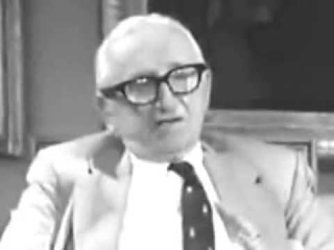 Friedrich Hayek Explaining the Price System.