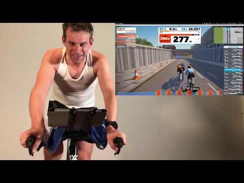 Indoortraining live: 30 x 30 Sekunden IE-Intervalle