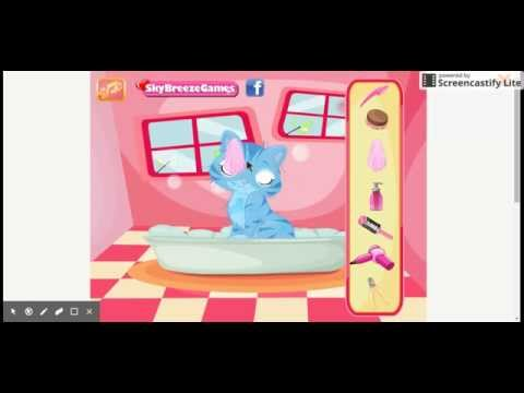 Barbie Ve Kedileri Oyunu - Kiwioyun.com