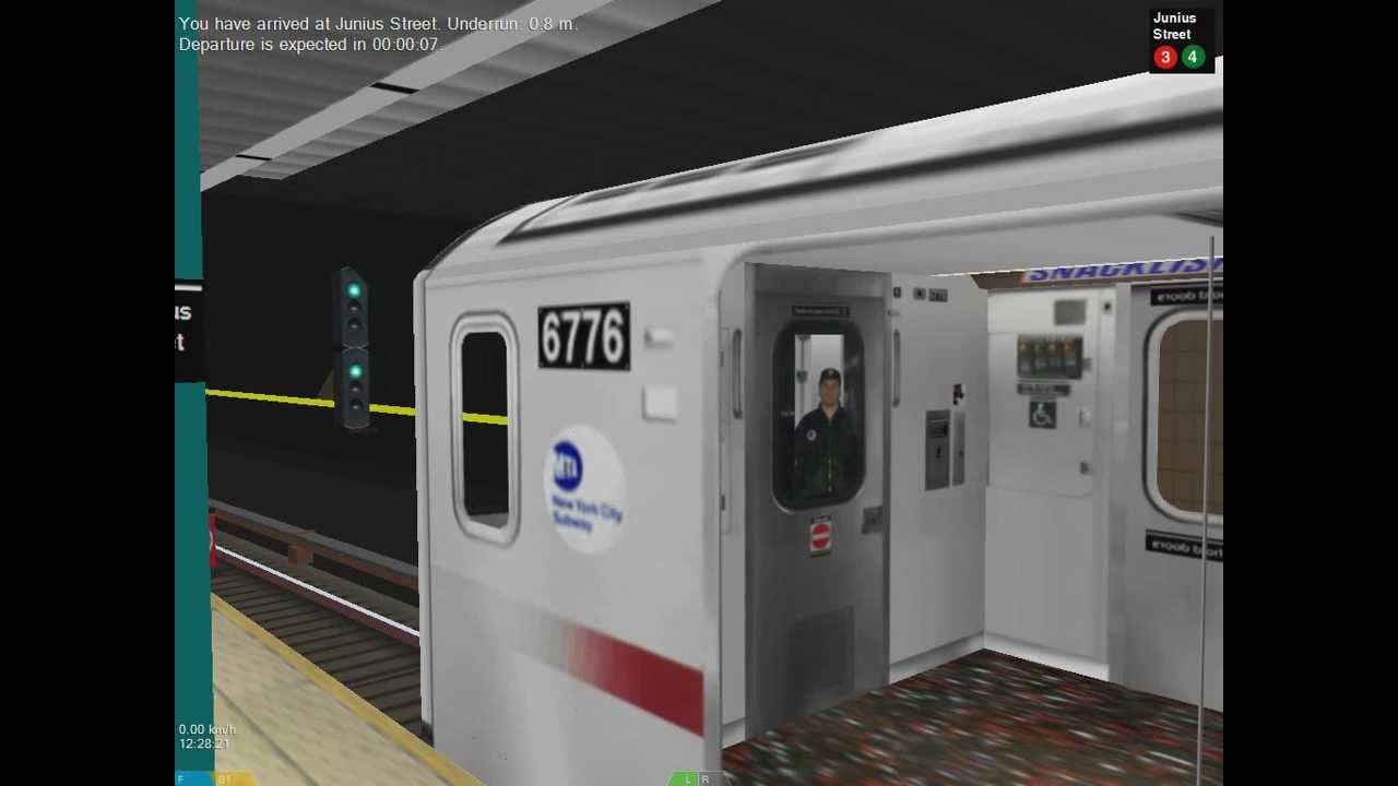 OpenBVE: R142 (2) to New Lots Avenue