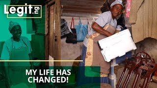 My life has changed! Female shoe cobbler says after getting help through Legit.ng| Legit TV