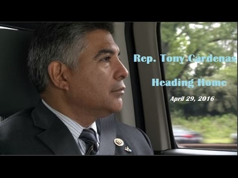 Heading Home with Congressman Tony Cárdenas - April 29, 2016