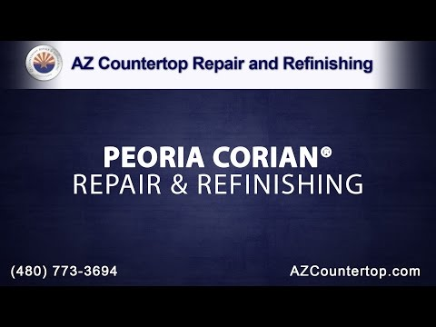 Peoria Corian® Repair & Refinishing by AZ Countertop