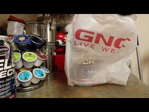 GNC Pickups - Muscletech Celltech & Gnc Triple Strength Fish Oil