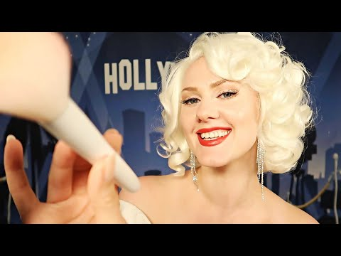Marilyn Monroe does YOUR makeup 💋 ASMR thumbnail