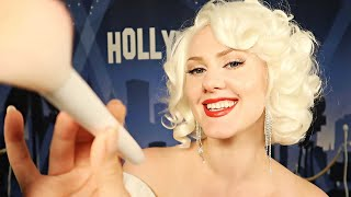 Marilyn Monroe does YOUR makeup 💋 ASMR