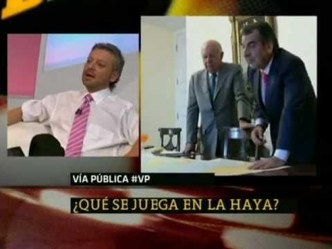 ¿Qué se juega en La Haya? / Vía Pública - 24 HORAS TVN 2012