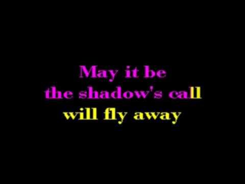 Enya   May It Be Fellowship Of The Rings SF Karaoke [karaoke]
