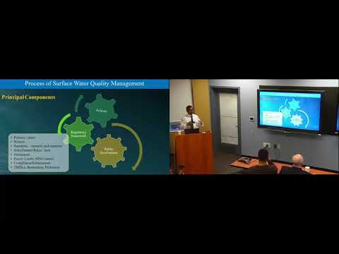 Sustainability Seminar Series: Sustainable Principles for Water Quality Management (Biswarup Guha)