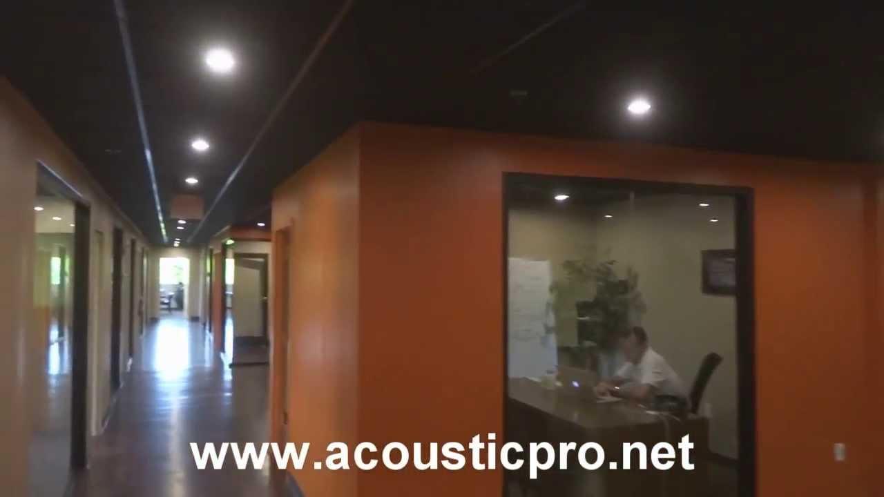 Black Acoustical Drop Ceilings Orlando Florida - Acoustic ...