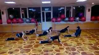Strip-parter-dance (Maximum Fitness club)