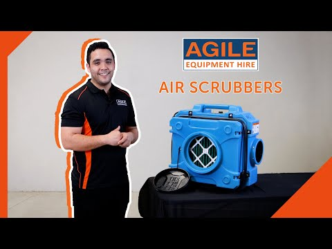 What is an Air Scrubber or HEPA Air Filter? - Agile Product Showcase