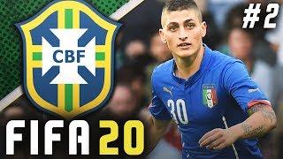 INSANE WORLD CUP DRAMA BRAZIL VS ITALY FIFA 20 Brazil Career Mode EP2