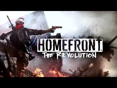 HOMEFRONT: THE REVOLUTION All Cutscenes (Game Movie) 1080p HD