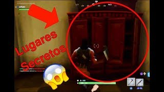 Coffres secrets sur la nouvelle carte de Fortnite