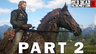 Unlocking The Stables, Horse Customization & Legendary Bear Hunt! Red Dead Redemption 2 Part 2