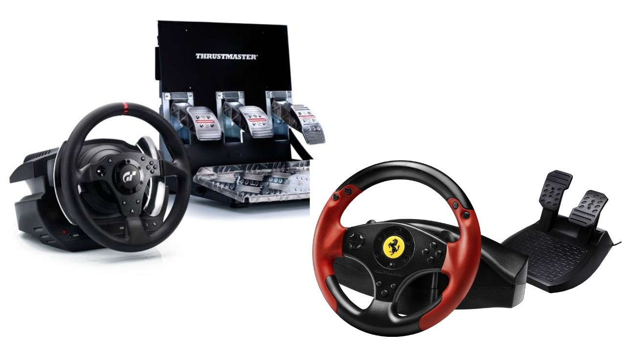 Experiment Thrustmaster T500rs Vs Ferrari Red Legend Edition Youtube
