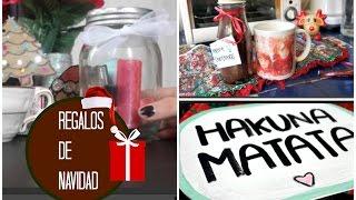 DIY - Regalos para Navidad ♡❅