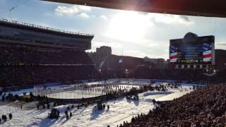 Stadium Series Alumni Game National Anthem 2 20 16