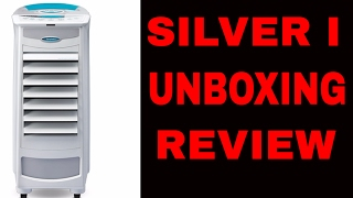 Symphony Silver I Air Cooler Unboxing & Demo