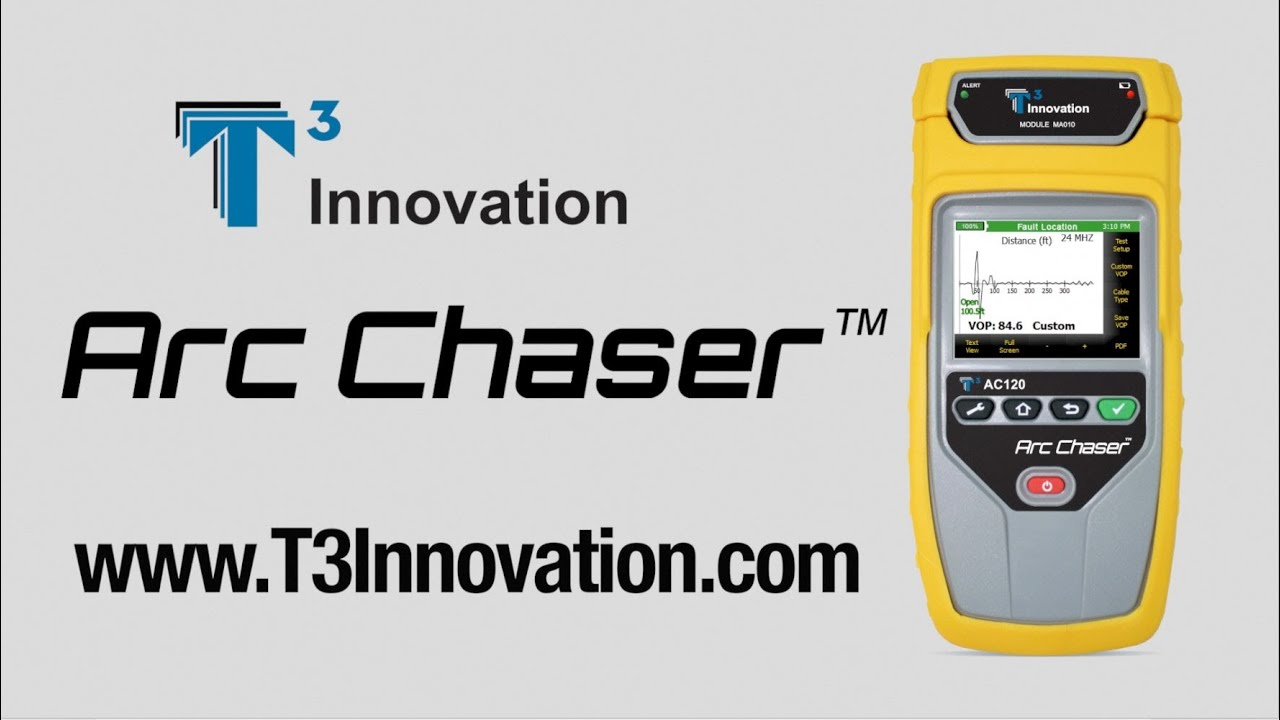 Cable Tester TDR for Testing and Monitoring : Arc Chaser