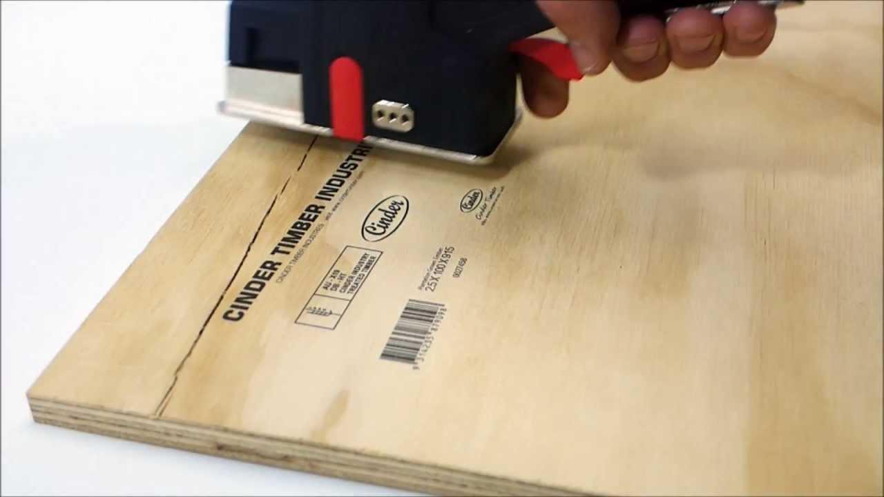 easy timber marking portable inkjet for printing wood youtube. Black Bedroom Furniture Sets. Home Design Ideas
