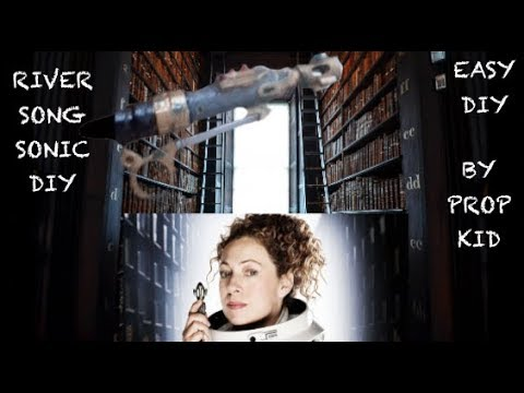 DOCTOR WHO -- DIY RIVER SONG SONIC SCREWDRIVER