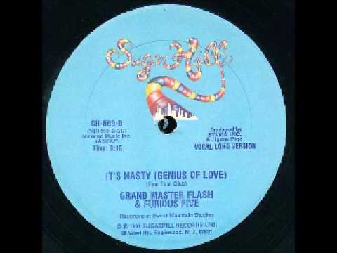 Its Nasty Genius Of Love LONG VERSION  Grandmaster Flash and the Furious Five