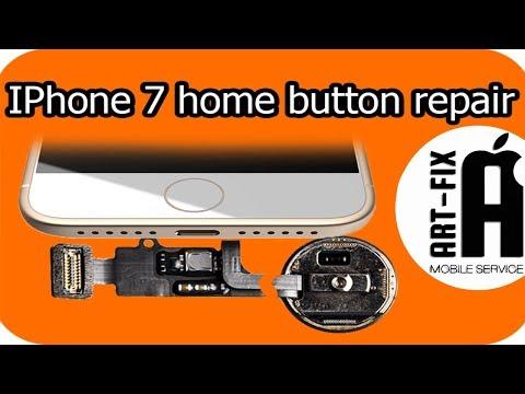 IPhone 7 Home Button Breaks (восстановление кнопки Home Iphone 7)
