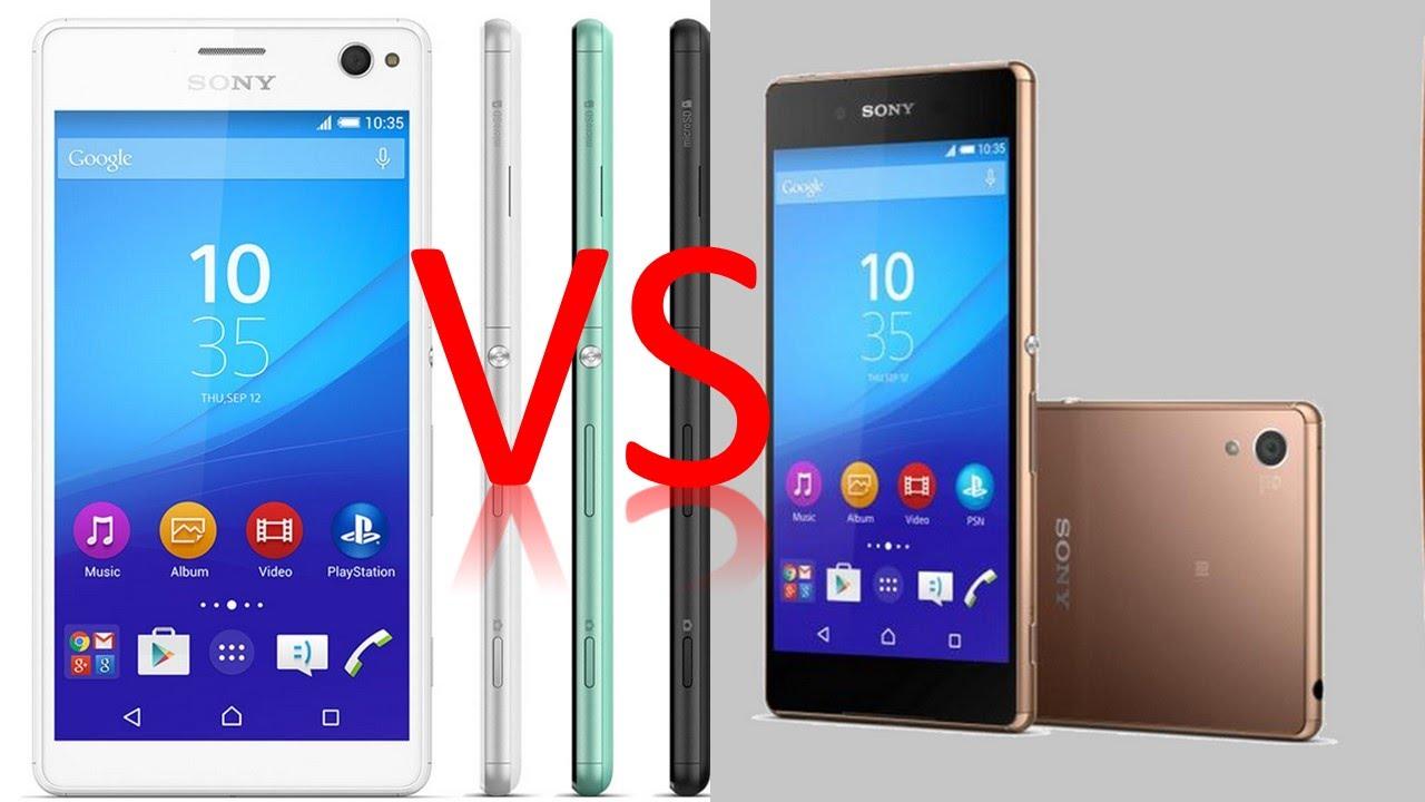 Sony Xperia C4 vs Xperia C3 Comparison - What's Different ? - YouTube