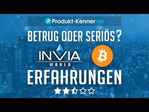 [FAZIT] Invia World Erfahrungen | INVIA WORLD Mining Test | Invia GmbH BETRUG - SERIÖS?