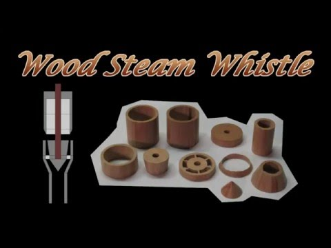Wood Steam Whistle