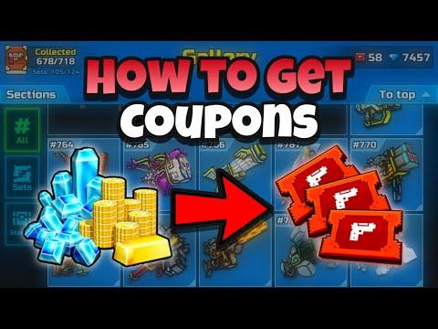 How to get Coupons? | Pixel Gun 3D