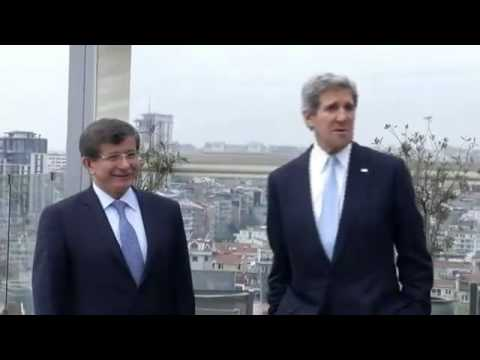 Kerry meets Turkish foreign minister