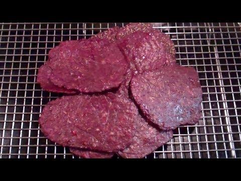 Homemade beef jerky microwave oven