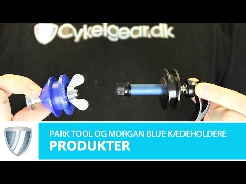 Morgan Blue og Park Tool (DH1) kædeholderer