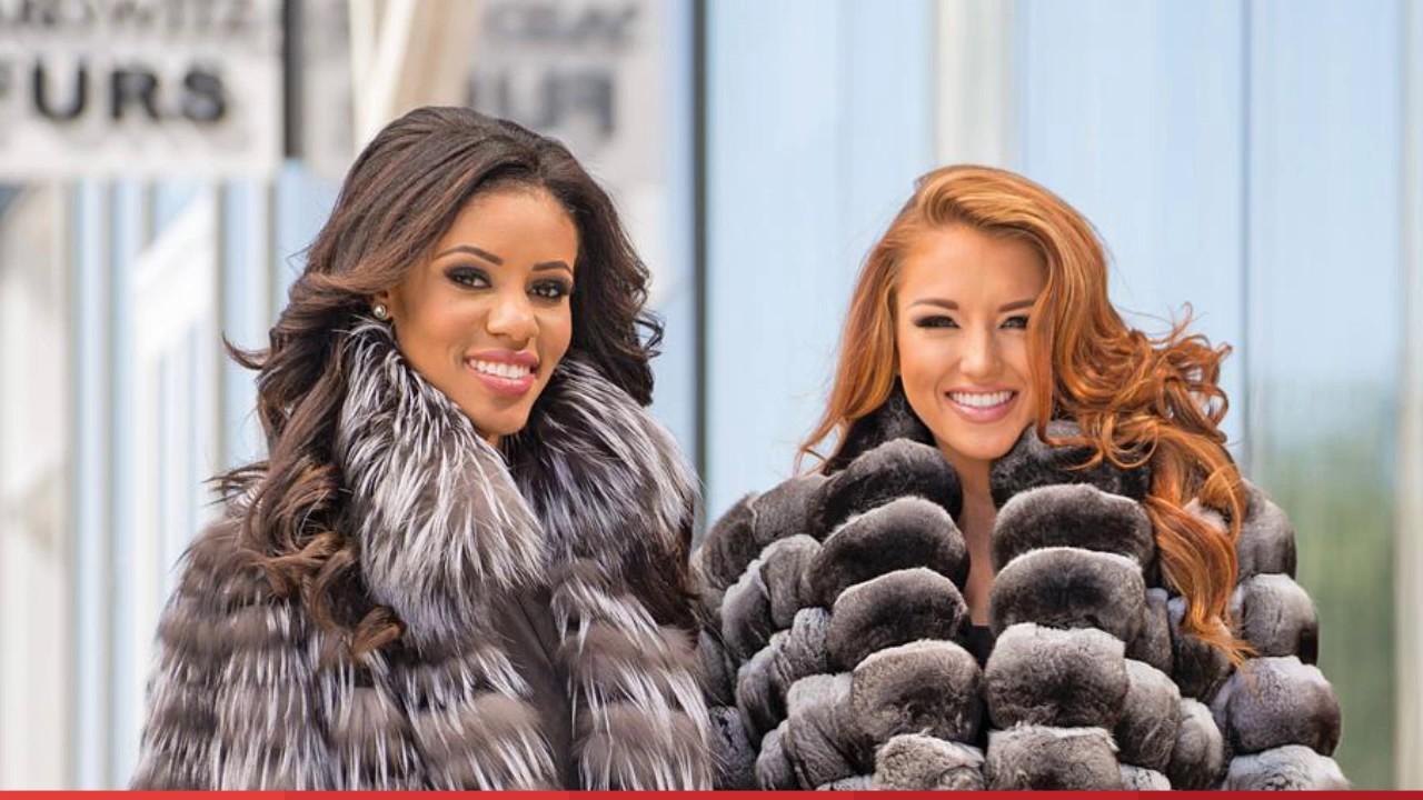 Maryland Genuine Luxury Fur Coats For Women - YouTube