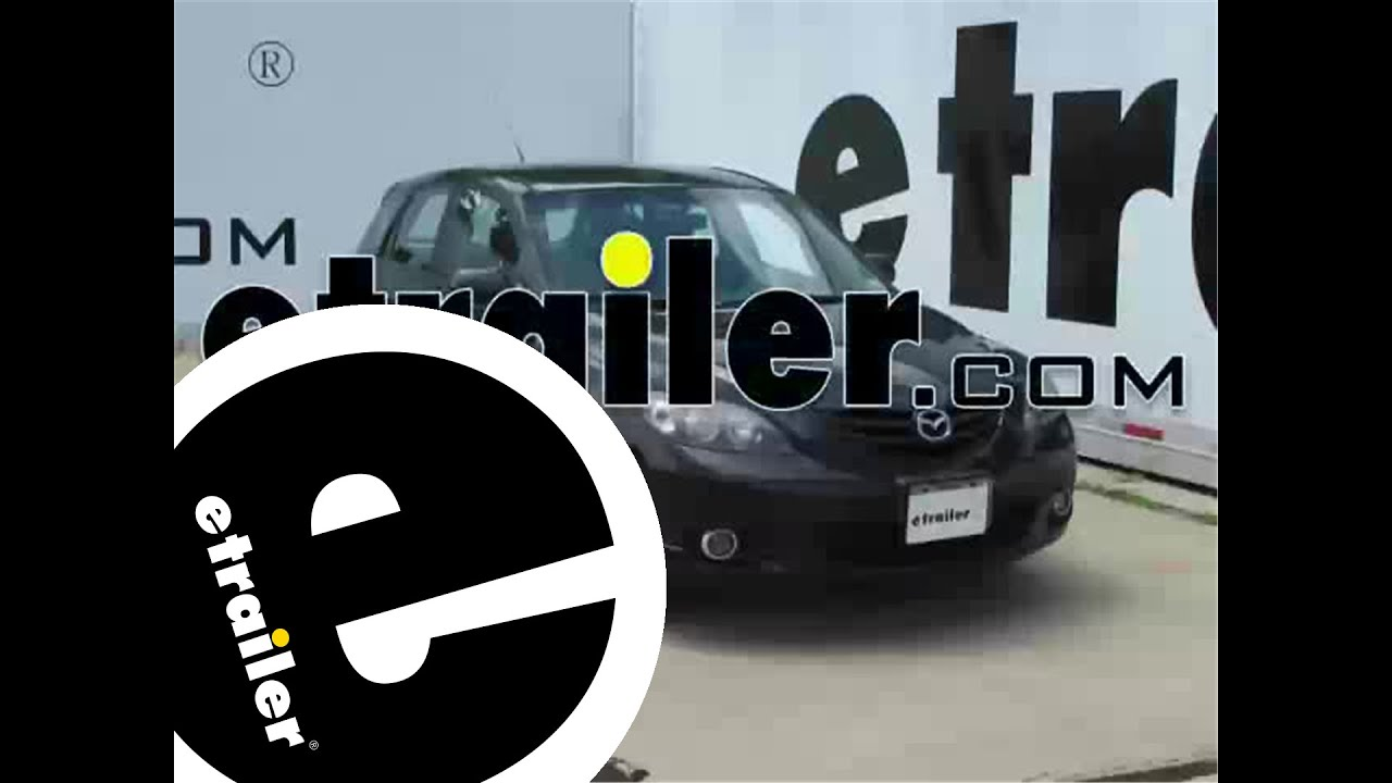 hight resolution of trailer wiring harness installation 2004 mazda 3 etrailer com