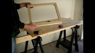 How To Make A Simple Picture Frame - Part 1: Construction