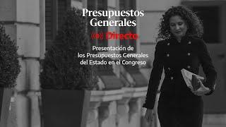 🔴 DIRECTO | La ministra de Hacienda presenta los Presupuestos del año 2022 en el Congreso