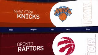 Toronto Raptors vs New York Knicks Game Recap | 3/18/19 | NBA