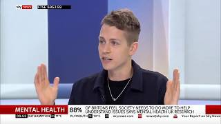 The Vamps; James McVey: on mental health