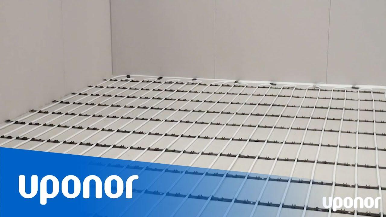 Instruktionsfilm: Golvvärme på befintligt betonggolv med Uponor ...