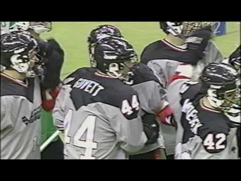 NLL MILL Era 1995 Philadelphia Wings @ Boston Blazers