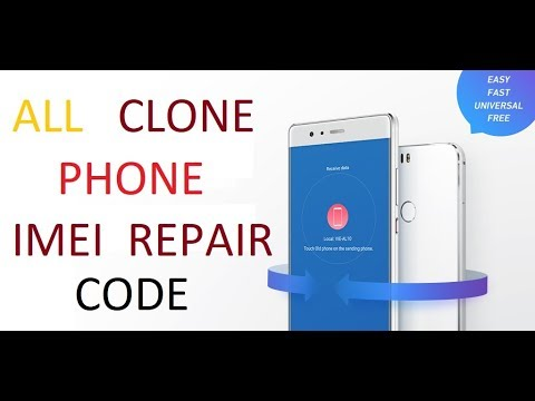 All Android Cihina FREE imei repair Code