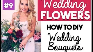 Wedding Bouquet DIY | Wedding Wednesdays Ep. 9 | Wedding Flowers(Instagram: http://www.instagram.com/sharrahrobeson | snapchat: sharrahrobeson Leave this video a thumbs up if you are loving Wedding Wednesdays!, 2016-07-13T19:52:15.000Z)