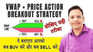 Secret VWAP + Price Action Breakout Strategy || NO ONE WILL TELL || ये बताएगा आपको कब BUY/SELL करें