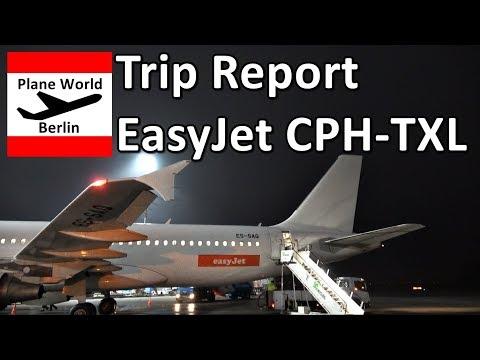 Trip Report | EasyJet Airbus A320 | Economy | CPH - Berlin TXL