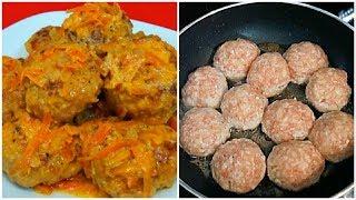 Тефтели с Рисом Очень Вкусные Домашние Тефтели с Подливкой Простой Рецепт Тефтелей с Рисом